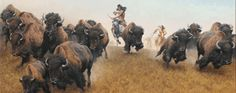 Original paintings from famous artists including Charles M. Russell, Edgar S. Paxson, and John Clymer tell stories of the west. Description from favellmuseum.org. I searched for this on bing.com/images