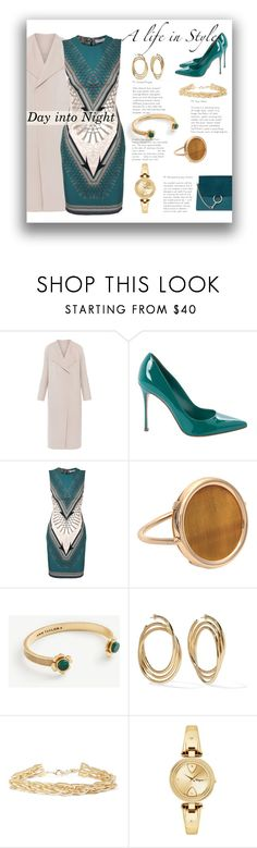 """""""Green shoes"""" by colonae ❤ liked on Polyvore featuring Elie Tahari, Sergio Rossi, Versace, Ginette NY, Ann Taylor, Marc Jacobs, Rosantica, Salvatore Ferragamo and Chloé"""