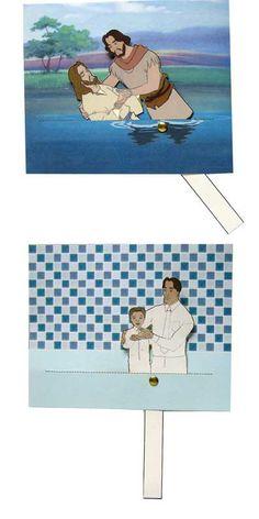 Jesus is baptized craft