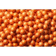 SweetWorks Candy Beads - Chocolate - Pearl - Orange - 100 g Golda's Kitchen