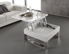 mesa elevable con pistón hidraúlico