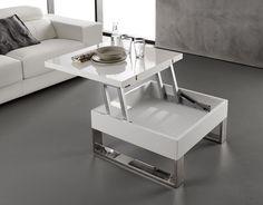 otro modelo mesa extensible y elevable mesas extensibles pinterest mesas. Black Bedroom Furniture Sets. Home Design Ideas