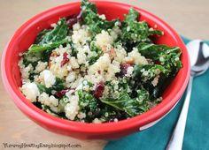 Yummy Healthy Easy: Delicious Kale & Quinoa Salad