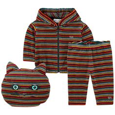 039a364ba9b Baby Unisex Colorful Striped 3-piece Gift Set