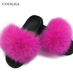 Girl's Accessories Glaforny 2018 Kids Real Fox Fur Girls Slipper Spring Summer Natural Fur Slides Children Indoor Outdoor Fashion Shoes Luxury Fox 2019 New Fashion Style Online Girl's Gloves