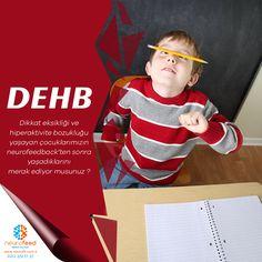Dikkat eksikliği ve hiperaktivite bozukluğu yaşayan çocuklarımız neurofeedback ten sonra yaşadıklarını merak ediyor musunuz ? Dikkati artırır ,Düzenli davranışı geliştirir, Duygu kontrolünü artırır, Hafızayı güçlendirir, Organizasyon becerilerini geliştirir,  Stres ve anksiyeteyi azaltır. Siz de bu farkları yaşamak için hemen bizimle iletişime geçin : 0 (212) 351 17 37