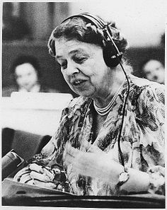 eleanor roosevelt human rights - Google Search