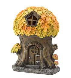 Enchanted Fall Fairy Oak Tree