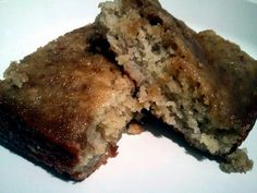 super moist and mostly healthy banana cake