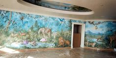 TONY RAYMOND. Murals and Decorative Paintings