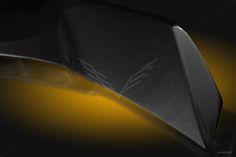 2014-2016 C7 Stingray Extreme Rear Spoiler Carbon Flash Black