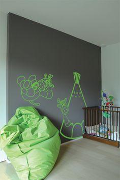 Stickers Apple Pie Desing pour chambre de bébé et d'enfant. Chez Paint Trade, le magasin de peinture vraiment moins cher ! www.painttrade.be