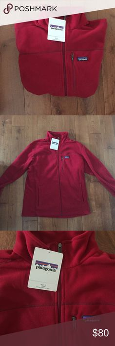 Patagonia Men's Micro D Jacket This lightweight fleece is regular fit so it isn't tight fitting. It is classic red and is brand new with tags. Patagonia Jackets & Coats Lightweight & Shirt Jackets