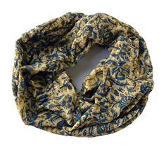 Sea of Flowers Infinity Scarf