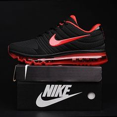 Hottest Nike Air Max 2017 Black Red Women Men Shoes Outlet UK -  65.50 Pink  Nike 4f94bc6d52