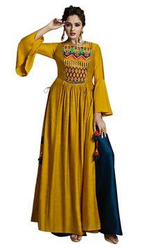 8b0fe5ab1e1e Indo Western Kurtis APR6066 Western Kurtis, Latest Kurti, Kurti Collection, Western  Dresses,