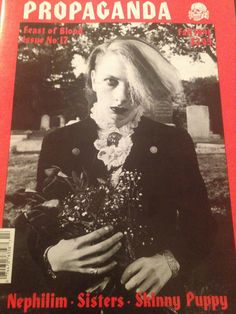 My husband's friend Scott Crawford on the cover of Propaganda.