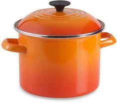 Le Creuset® 6-Quart Stock Pot - Flame