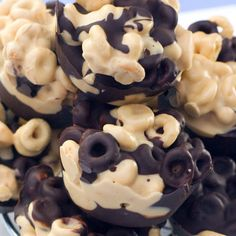 Chunky Chocolate Cheerios: Kids will love you and mothers will hate you. Make it and find out why.