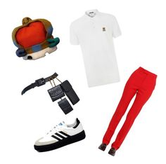 Menswear by whatscooljay on Polyvore featuring polyvore, fashion, style, Gucci, Vivienne Westwood, Chanel, Moschino, adidas and clothing