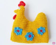 Little Things Blogged: {Crochet Easter Hen Egg Cosy Pattern}