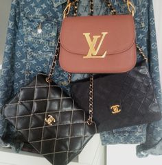 totally LV and Chanel Junkie.....