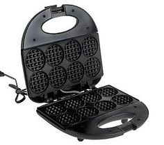 CooksEssentials Nonstick Mini Waffle Maker