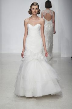 Gown by Kenneth Pool Spring 2013