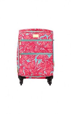 in LOVE with this Lilly Pulitzer suitcase. Too bad i missed the GWP sale :( #LillyPulitzer