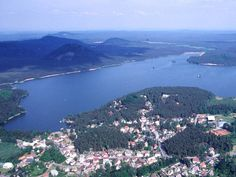 Lake Macha, Czech Republic - Machovo jezero