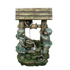 Polyresin Sculptural Fountain | Wayfair