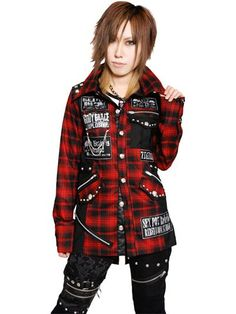 Custom GRACE PUNK Shirts Jacket Plaid Red. See more at: http://www.cdjapan.co.jp/apparel/sexpot.html #punk #jrock