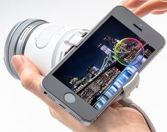 The new Olympus Air camera module for smartphones is just like the Sony QX1