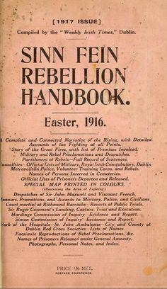 Sinn Fein Rebellion Handbook, Easter, 1916