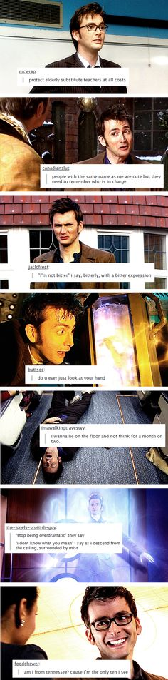 Textpost Edits: Tenth Doctor edition. THIS MAKES ME SO HAPPY. YOU DON'T EVEN UNDERSTAND.