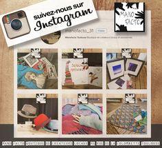 Suivez-nous sur Instagram... la vie de notre collectif, nos nouveautés, nos événements TOUT y est !
