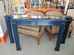 Hollywood Regency Style FRETWORK Console for the Entry :)