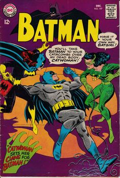 Batman 197  December 1967 Issue  DC Comics  Grade by ViewObscura