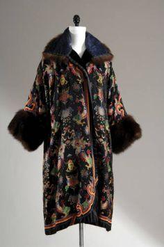 Evening coat, Lucile, 1923.