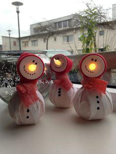 Traktatie sneeuwpop