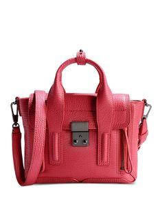 3.1 Phillip Lim: Pink Pashli Mini Leather Satchel