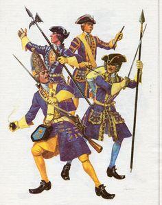 Пехота Карла XII
