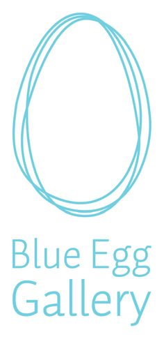 blue egg gallery logo - Google Search