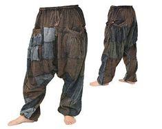 Handmade Bohemian Pants Womens Boho Pants Harem Pants Lotus | Etsy Plus Size Harem Pants, Harem Jeans, Buddha Pants, Harem Pants Pattern, Plus Size Yoga, Bohemian Pants, Yoga Pants Outfit, Loose Pants, Fashion Lookbook