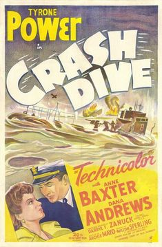 Crash Dive' is perhaps a noble failure, but yet another interesting warfilm, this time propaganda for the submarine units. Description from moviesdvdnewreleases.com. I searched for this on bing.com/images