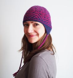 Arbuckle Hat knit by Dayana Knits.  Pattern is by Alexis Winslow, yarn is Rowan Alpaca Colour.  On Ravelry: http://www.ravelry.com/projects/dayana/arbuckle-hat