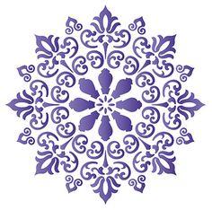 Stencils Mandala, Stencil Patterns, Stencil Designs, Mandala Art, La Tattoo, Cutlery Art, Laser Cut Stencils, Textile Pattern Design, Cutwork Embroidery