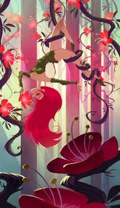 Pin Up Girls • (via El Gunto Blog: HebdoGirl147 - Poison Ivy)