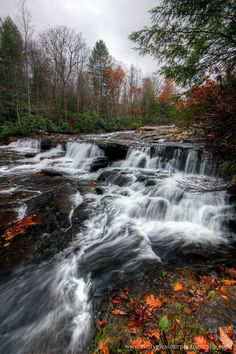 Cascades Falls, Ohiopyle State Park, Fayette County, PA.