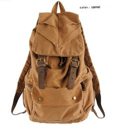 Fashion Vintage Leather military Canvas backpack Men's backpack school bag drawstring backpack women 2017 bagpack male rucksack Price: 67.00 & FREE Shipping #online #shopping #market #electronics4 #pets #fitness #home #personal #beauty #bags #mobile #camera #jewellery #car #books #toys #kids #fashion Backpack Brands, Men's Backpack, Leather Backpack, Drawstring Backpack, Camping Rucksack, Sac Week End, Shoulder Backpack, Shoulder Bags, Shoulder Strap